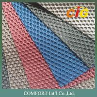 Auto Car Upholstery Tear Resistant Tricot Knitting Mesh Fabric with Shiny Lines