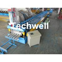 Cheap Galvanized Steel Floor Deck Roll Forming Machine for Making Steel Structure Floor Decking Panel for sale