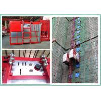 Construction Building Site Material Lift Elevator Rack And Pinion Lift CE Approved