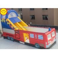 Cheap Customized Commercial Inflatable Slide Large Inflatable Outdoor Jumping Bouncer with Slide for sale