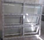 Cheap Open Inward Window in PVC Material for sale