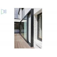 Buy cheap Large Lighting Area Aluminium Glass Sliding Doors With Chinese Top Brand Accessory from wholesalers
