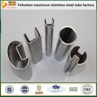 Cheap FOSHAN biggest pipe 316 ss slot pipe stainless steel square tubes price for sale