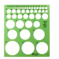 China Large and Small Circles Template on sale