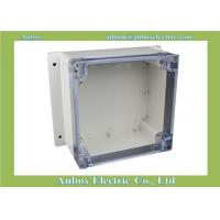 Cheap 160*160*90mm wall mount OEM & ODM electrical outdoor plastic enclosure with clear lid for sale