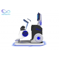 Cheap Exciting 720 Degree Flight Simulator Cockpit 360 Vr Chair Rotation VR Simulator for Roller Coaster Simulator for sale