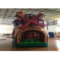 China Commercial Inflatable Bouncer 3 X 4 X 5m , Silk Printing Minnie Mouse Bounce House Inflatable mushroon bouncy castle on sale