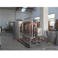 China RO Drinking Water Filter System / Raw Water Treatment Plant High Pressure on sale