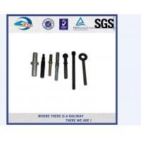 Cheap ZhongYue Azerbaijan railway project carbon steel rail bolt and nut for sale