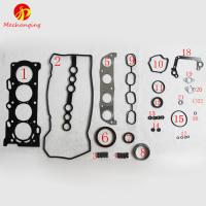 For TOYOTA COROLLA AVENSIS 1ZZFE Metal Full Set Engine Rebuilding Kits Engine Parts Engine Gasket 04111-22152 50177500