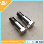 Gr2 and Gr5 DIN931 Half Thread Titanium Hex Head Bolts