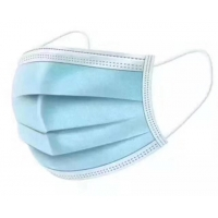 Cheap Blue Green Non Woven Fabric Face Mask , 3 Ply Surgical Face Mask for sale
