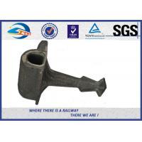 Cheap Plain Surface Cast Iron Rail Shoulder Embedded Part For Railway Fastening System for sale
