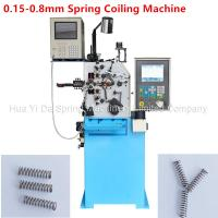 China Custom CNC Spring Machine / Spiral Spring Machine For Wire Size 0.8mm on sale