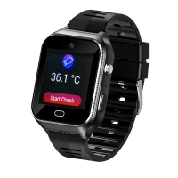 Cheap Elderly People smart watch With SIM Android OS 4G GPS tracking SOS GEO heart rates monitor, temperature monitor for sale