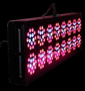Cheap AC100-277V LED Grow Lights APOLO 16 400W PPF 1.8umol/J Alluminum Material for sale