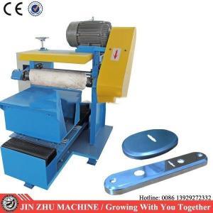 China Door Lock Plate Polishing Machine , Surface Grinding Machine PLC Program Control on sale