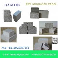 China Building supplies Uk Foam&Cement composite Sandwich Wall Panel interior decoration on sale