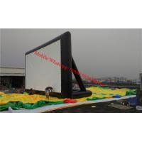 Cheap used inflatable movie screen Outdoor Inflatable Movie Screen / Projection Screen for sale