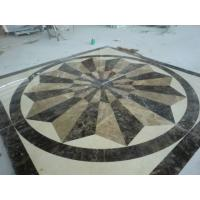 Cheap 60x60 cm China natural Marble water jet Pattern for floor,Home And Hotel Decorative Marble Water Jet Patterns Price for sale
