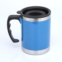 Cheap Double Wall LFGB 400CC Stainless Steel Insulated Mug for sale