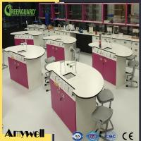 Quality ISO 9001 matte surface wearproof formica laminate Lab Worktop wholesale