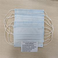 Cheap Blue Appearance Disposable Face Mask Eco Friendly Materials Respirator Mouth Mask for sale