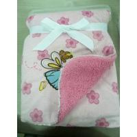 Cheap Embroidered Baby Blanket for sale