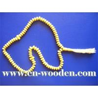 China Wooden Beads Necklace on sale