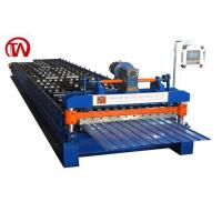 China Multi Ribs Roof Roll Forming Machine  Trapezoidal Sheet Roll Forming Machine on sale