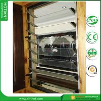 Quality Home Factory direct-sale tempred glass window blind/wood jalousie windows for sale
