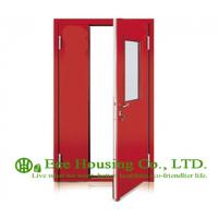 Cheap Steel Fire Retardant Door with Glass Vision With Fire Proof Certification, Fire Rated Door Manufacture In China for sale