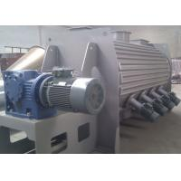 Cheap High Speed Powder Ploughshear Mixer , Jacketed Ribbon Blender With Hot Water Injection for sale
