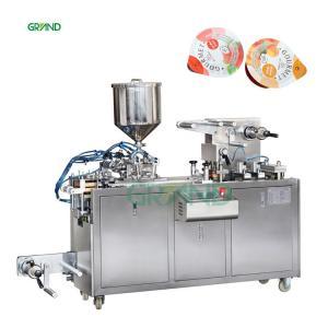 China DPP-80 Blister Packaging Machine Honey Butter Blister Packing Machine on sale