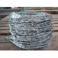 Corrosion Resistance Galvanized Barbed Wire For Penitentiaries / Railway Stations