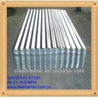 Cheap Galvanized Color corrugated iron sheet specification for sale