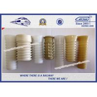 Quality Railway Fastener Rail Insulator HDPE Material Plastic Sleeve Dowel wholesale