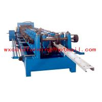 Cheap High Frequency PLC CZ Purlin Roll Forming Machine With Gear Box Transmission for sale