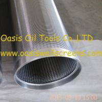 Oasis factory supplies all-welded stainless steel 316L sand control johnson screens pipe