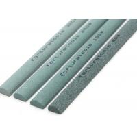 China Half Round Green Silicon Carbide Sharpening Stone Abrasive Sticks on sale