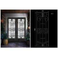 Buy cheap OEM High Level Inlaid Door Glass for Building Decorative Art Glass Sound Insulation from wholesalers