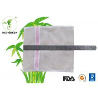 Cheap Multi Functional Mesh Laundry Bags , Double Zipper Wet Bag For Cloth Nappies for sale