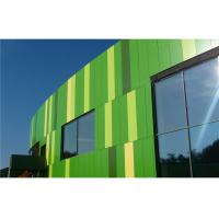 Cheap Bamboo Green Facade / Curtain Wall PVDF Aluminum Composite Panel Weatherproof for sale