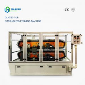 China Sinohs CE ISO Glazed Roof Tile Corrugated Making Machine on sale