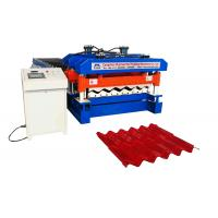Cheap Ppgi / Gi Roof Tile Manufacturing Machine Material Width 1220mm 18 Rollers for sale