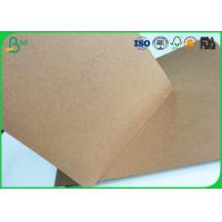Cheap Brown Kraft Liner Paper Board 80gsm - 350gsm Stretching Resistance For Cement Bag Paper for sale