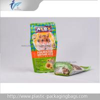 China PET/NY/PE Stand Up Packaging Pouches For Pet Food , Candy , Snack on sale