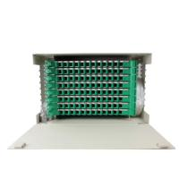 China 96 Port Optical Fiber Distribution Frame Reliable For FTTH FTTB FTTX Network on sale