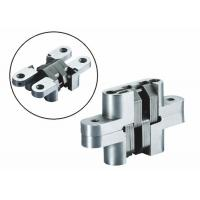 China Self Closing Stainless steel Concealed Hinge with spring inside for Channel gate on sale