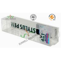 Cheap Electronics Ballpoint Plastic Packaging Boxes , Clear Plastic Display Boxes for sale